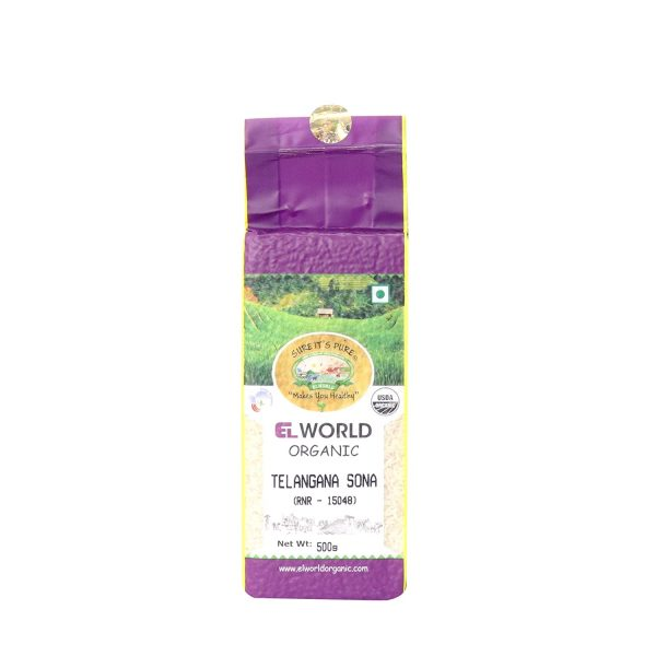Organic Telangana Sona Low GI Rice