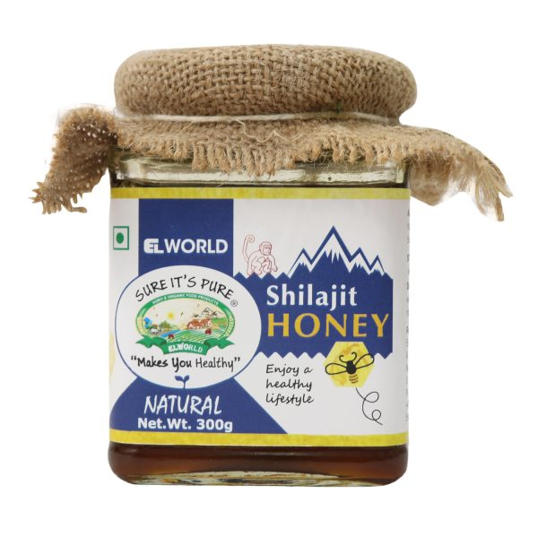 Natural Shilajit Honey