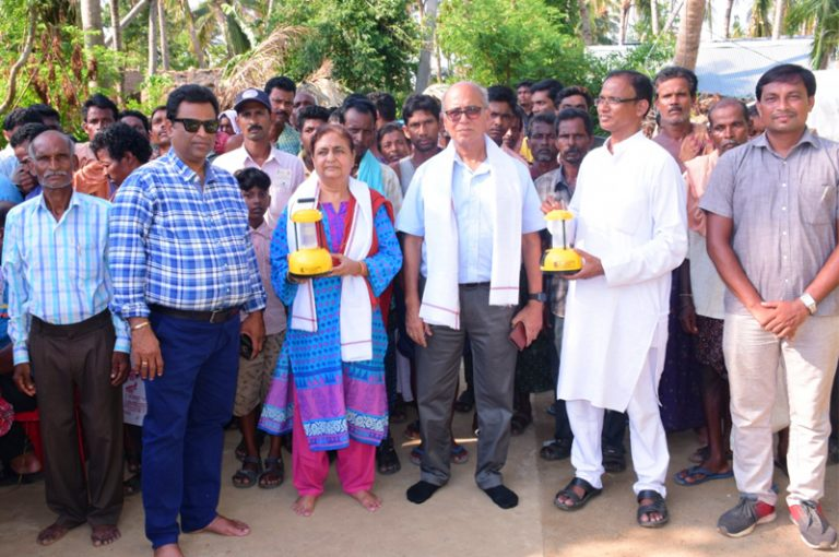 CSR Activity - FANI Victims Orisa Lantern Distribution
